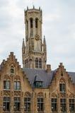Torre en Brujas Foto de archivo libre de regalías