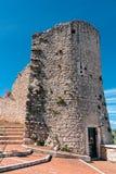 Torre en Campobasso Foto de archivo