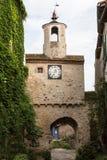 Torre en Cordes-sur-Ciel Fotografía de archivo