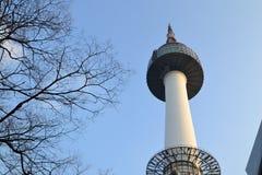 Torre en Corea Fotografía de archivo libre de regalías