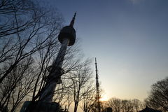 Torre en Corea Imagen de archivo libre de regalías