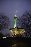 Torre en Corea Fotografía de archivo