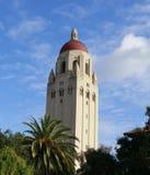 Torre en el campus de la Universidad de Stanford Imagenes de archivo