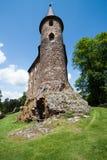Torre en el castillo Velhartice Imagen de archivo libre de regalías