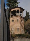 Torre en el edificio del gobierno (Tbilisi, Georgia) Foto de archivo