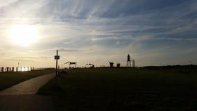 Torre en el Northsea Imagen de archivo libre de regalías
