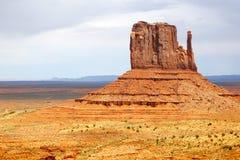 Torre en el valle del monumento, Utah Imagen de archivo libre de regalías