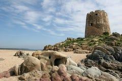 Torre en el ver Imagen de archivo