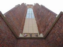 Torre en iglesia Imagen de archivo libre de regalías
