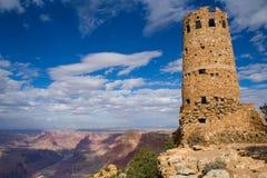 Torre en la barranca magnífica imágenes de archivo libres de regalías