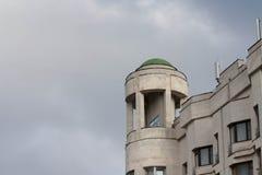 Torre en la ciudad Foto de archivo libre de regalías