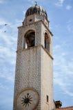 Torre en la ciudad vieja de Dubrovnik Imagenes de archivo