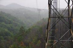 Torre en la colina Imagen de archivo libre de regalías