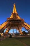 Torre en la noche Fotografía de archivo