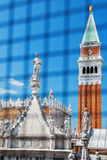 Torre en la plaza principal Imagen de archivo libre de regalías