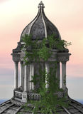 Torre en la salida del sol libre illustration