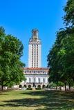 Torre en la universidad de Texas Campus Imagen de archivo libre de regalías