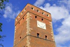 Torre en Legnica Fotografía de archivo libre de regalías