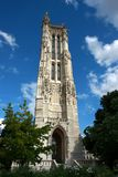 Torre en París Fotografía de archivo
