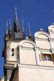 Torre en Praga. Imagen de archivo libre de regalías
