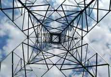 Torre en Shawinigan, Canadá 2. del hierro. Imagenes de archivo
