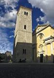 Torre en sombra Fotografía de archivo
