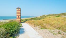 Torre en una duna Imagen de archivo