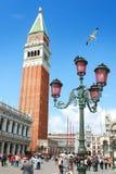 Torre en Venecia Foto de archivo libre de regalías