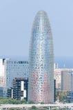Torre España de Agbar Imagenes de archivo