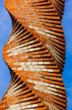 Torre espiral en el monasterio de Kovilj - Fruska Gora - Serbia imagenes de archivo
