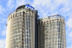 Torre Europa op Madrid Royalty-vrije Stock Foto