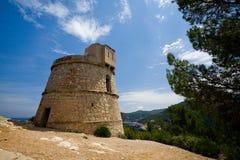 torre för des-ibizakindtand royaltyfria foton