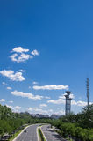 Torre facente un giro turistico di Pechino Fotografie Stock