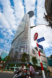 Torre financeira de Bitexco, Ho Chi Minh City. Imagens de Stock Royalty Free
