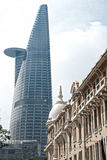 Torre financeira de Bitexco, Ho Chi Minh City. Fotografia de Stock