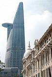 Torre financiera de Bitexco, Ho Chi Minh City. Fotografía de archivo