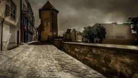 Torre fortificada em Chojnice Foto de Stock Royalty Free