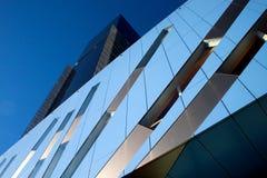 Torre futurista do escritório Fotos de Stock Royalty Free