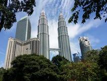 Torre gémea de Petronas Fotografia de Stock Royalty Free
