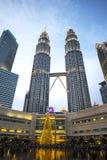 Torre gémea de Petronas Imagens de Stock Royalty Free