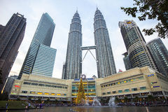 Torre gémea de Petronas Fotos de Stock Royalty Free