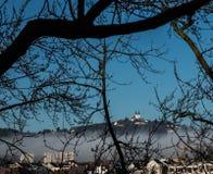 Torre gêmea em Linz Foto de Stock