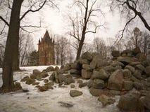 Torre gótica Imágenes de archivo libres de regalías