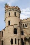 Torre gótico velha fotografia de stock royalty free