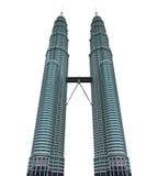 Torre gemela de Malasia stock de ilustración