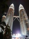 Torre gemela de Petronas Fotos de archivo libres de regalías