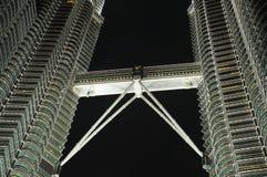 Torre gemela, Kuala Lumpur Fotos de archivo libres de regalías