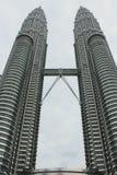 Torre gemela Petronas Imagen de archivo libre de regalías
