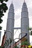 Torre gemella di Petronas Immagine Stock Libera da Diritti