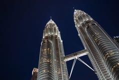 Torre gemella di Petronas Fotografia Stock Libera da Diritti
